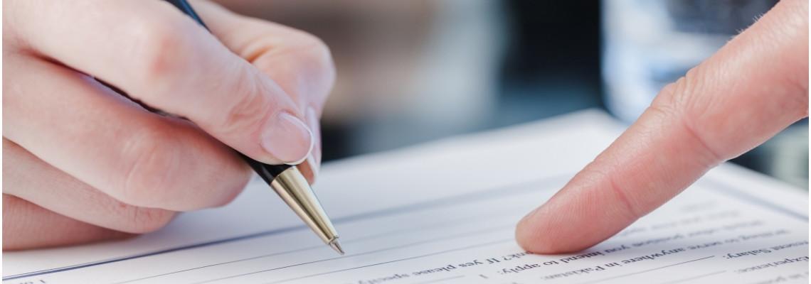 Заявление на открытие расчетного счета