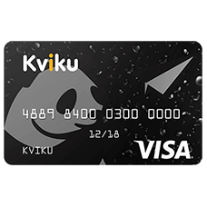 Банк Kviku — виртуальная кредитная карта