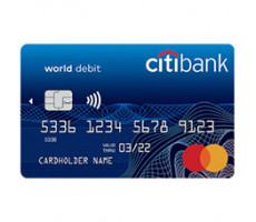 Citibank — дебетовая карта «Citi One+»