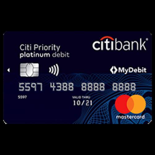 Citibank — дебетовая карта «Citi Priority»
