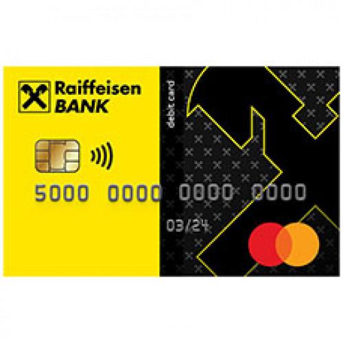 Райффайзен Банк — дебетовая карта «#Кэшбэк»