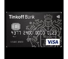 Тинькофф Банк — дебетовая карта «Black»